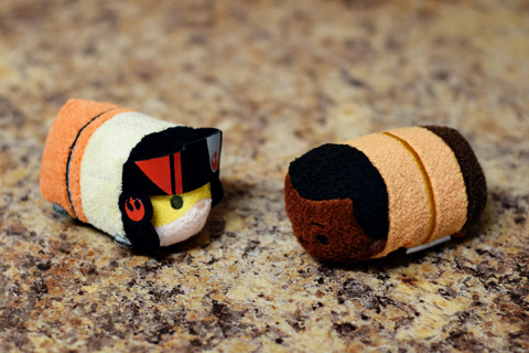 My Star Wars: The Force Awakens Tsum Tsums | Anakin and His Angel