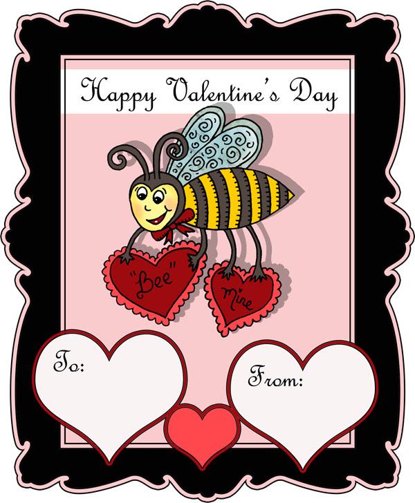 Bee Mine Valentine-blog