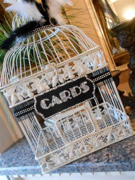 Large Wedding Birdcage Card Holder / Wedding Card Box