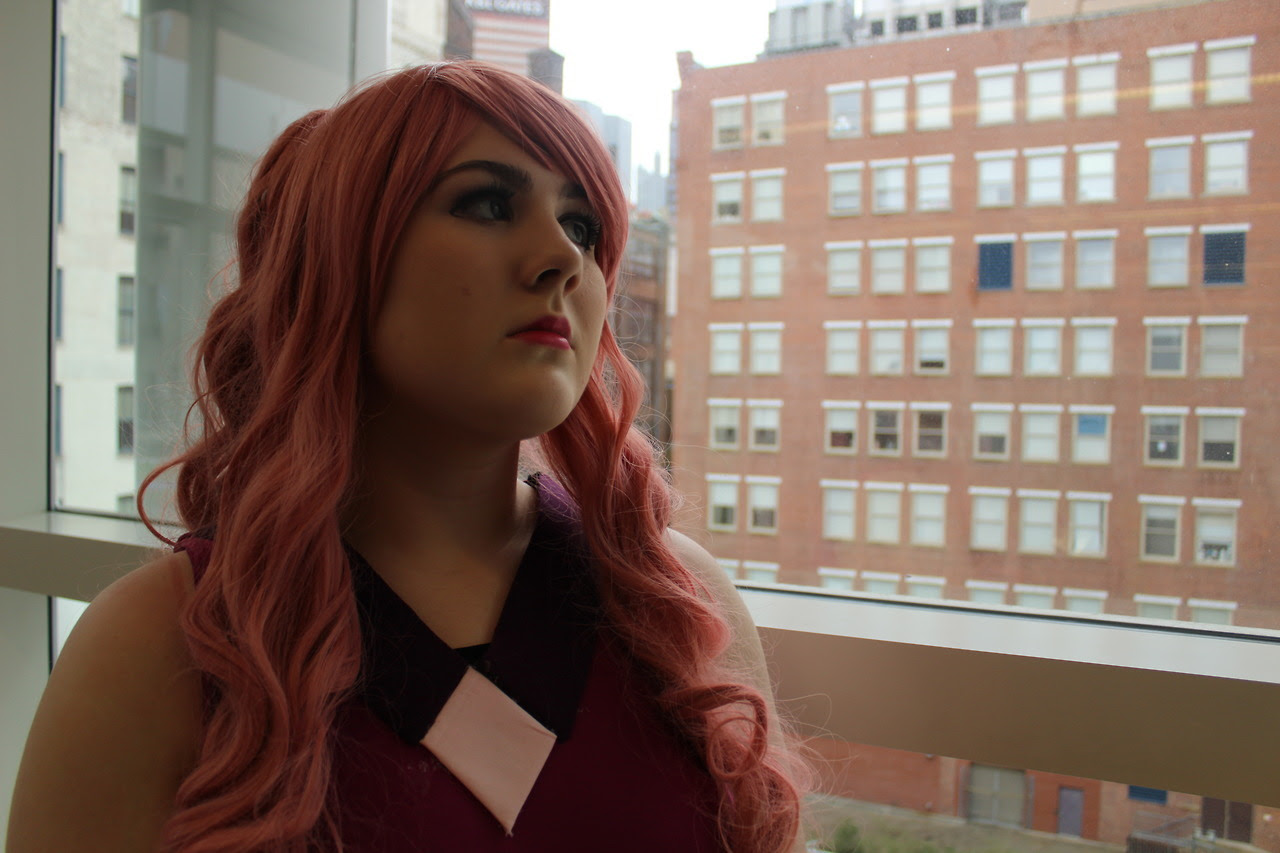 @ultra-weeb as Rose Quartz (Soldier), Bee, and Holly Blue Agate! Photos by me