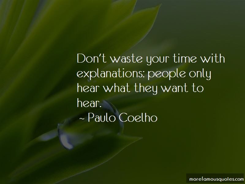 Quotes About Dont Waste Your Time Top 71 Dont Waste Your Time
