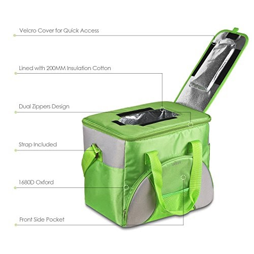 Kleine Mini Kühltasche Kühlkorb Thermotasche Isoliertasche für Dosen Flaschen