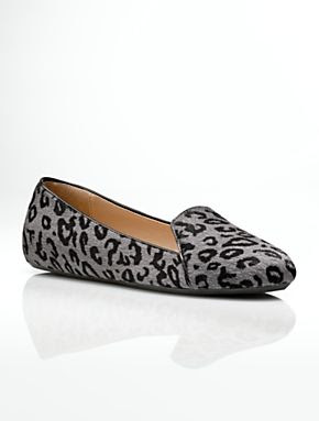 Talbots - Zoe Leopard Piped Slipper Shoes | Flats |