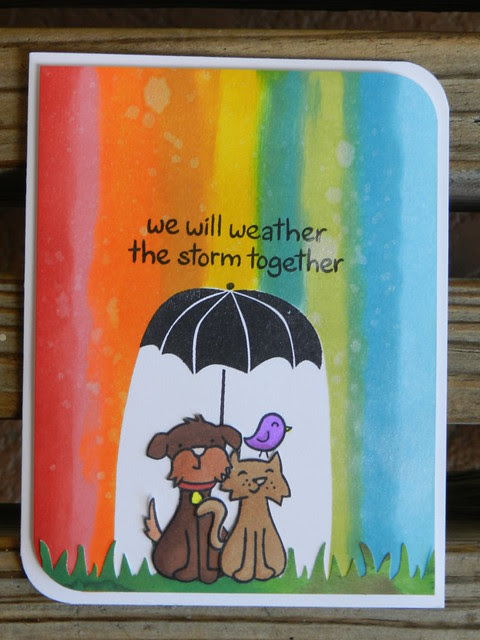 We will Weather the storm together - Distress Mania