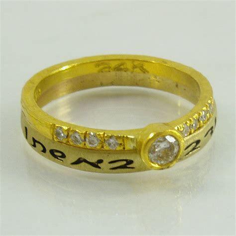 engagement ring set,Wedding band,Pure gold wedding rings
