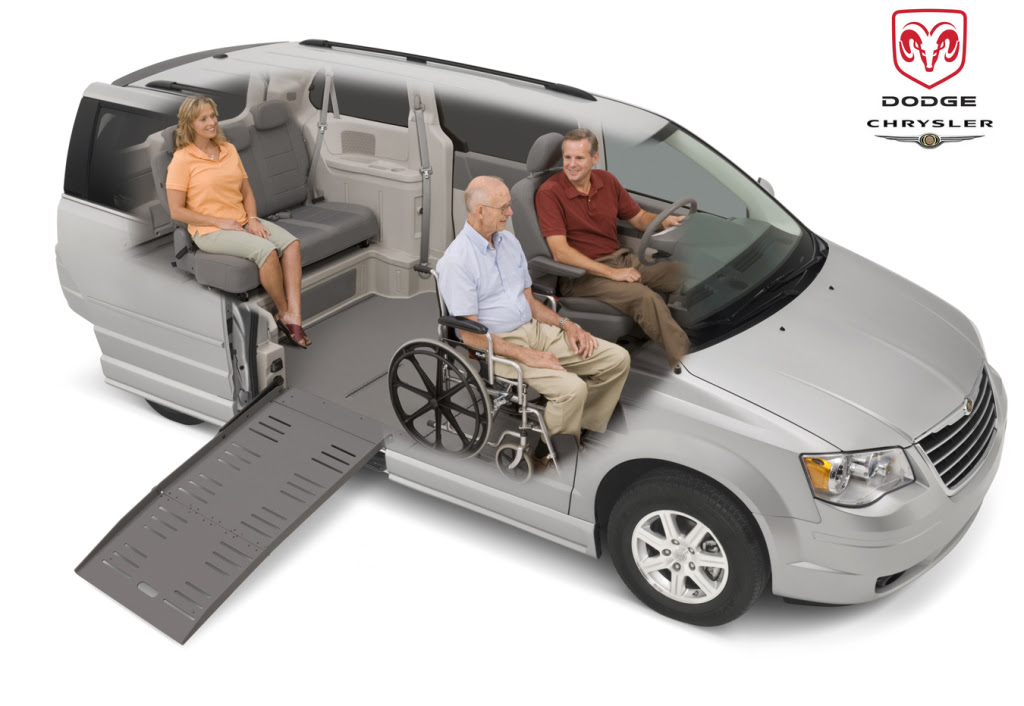 Dodge Chrysler Side Entry Wheelchair Van Drive Master