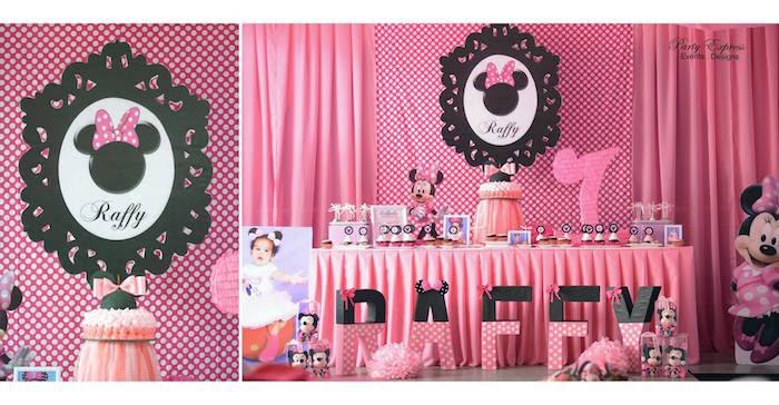 Karas Party Ideas Minnie Mouse Birthday Party Karas Party Ideas