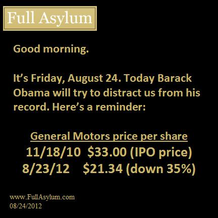 Obama's Record: GM