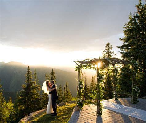 Aspen Wedding Deck, Wedding Deck Rental   The Little Nell