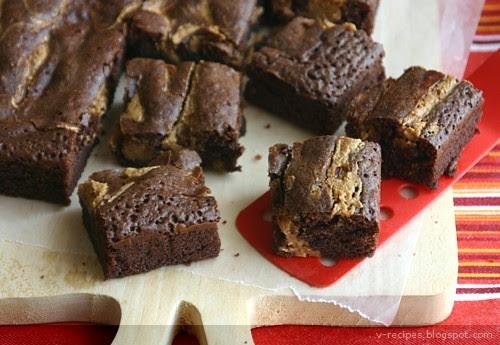 Peanut Butter Brownies 1