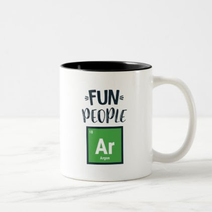 Fun People Are Gone (Argon) Two-Tone Coffee Mug