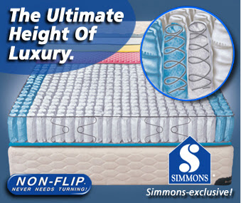 Simmons Non-Flip Technology