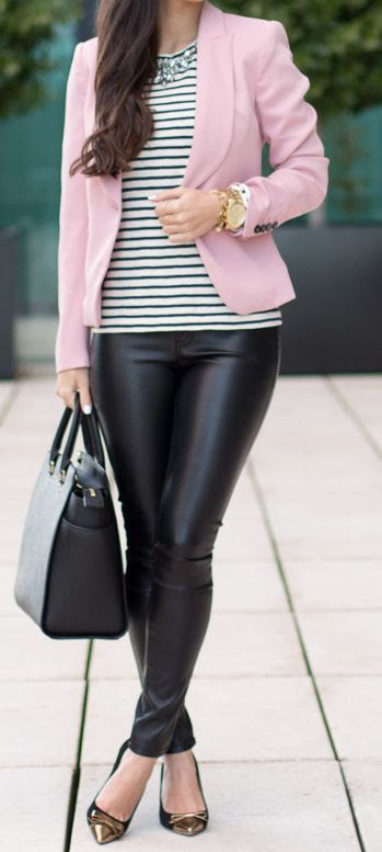 In Pink & Stripes by Blasfemmes