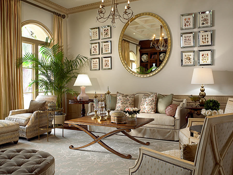 A beautiful selection of 15 living rooms, decorated in ...