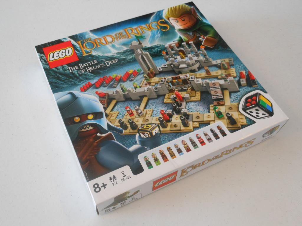 The Battle of Helm's Deep LEGO game