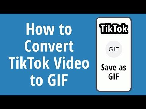 How to Convert TikTok Video to GIF 2020