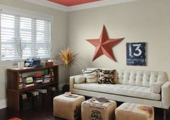 Ceiling Painting Ideas Home : Pros And Cons Of Painting Ceiling Same Color As Walls Designing Idea : This creates an architecturally pleasing focal point.