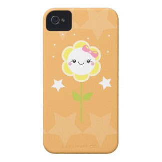 Kawaii Daisy Case-mate Iphone 4 Cases