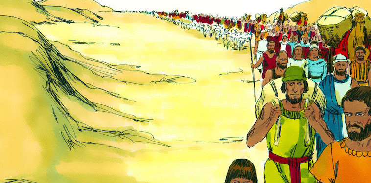 Israelites In The Wilderness Clipart