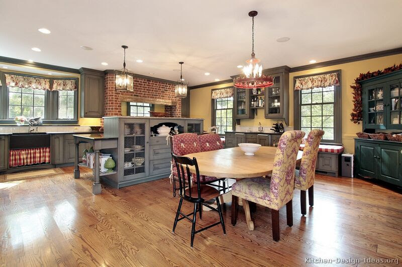 Kitchen Country Design Ideas - Feed Kitchens