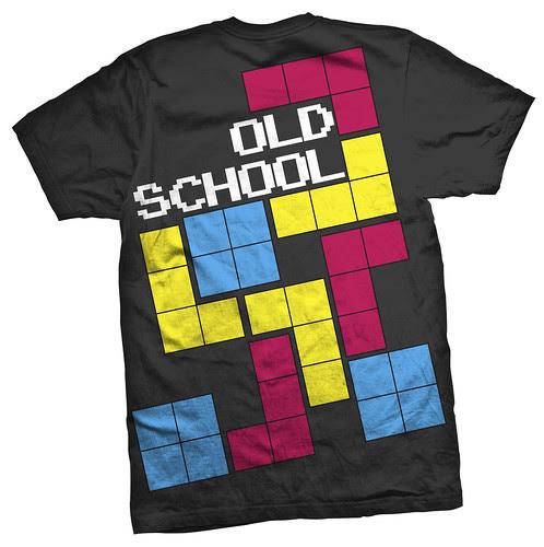 OldSchool Tetris 4