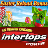 Intertops Poker Schedules Extra Free Roll Guaranteed and Bounty Poker Tournaments for Easter Long Weekend