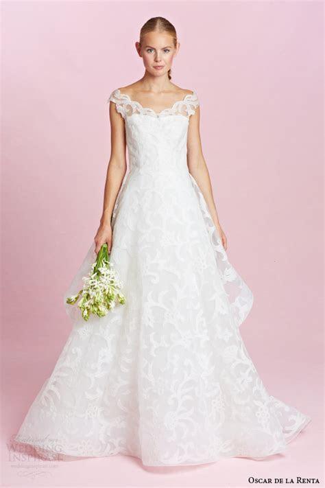 Oscar de la Renta Bridal Fall 2015 Wedding Dresses