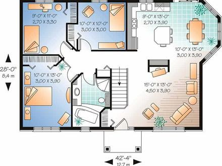 1500  Sq  FT  Ranch Plans  1500  Sq  FT  Ranch House  Plans  1500