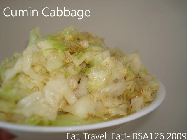 Cumin Cabbage