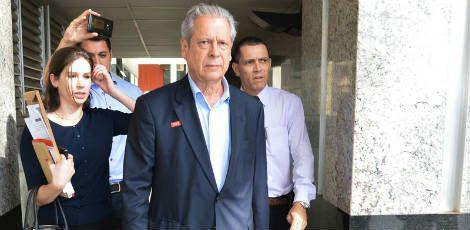 Em 2012, de acordo com a Receita, a movimentação financeira de Dirceu foi de R$ 229,1 milhões / Foto: Fabio Rodrigues Pozzebom/Agência Brasil