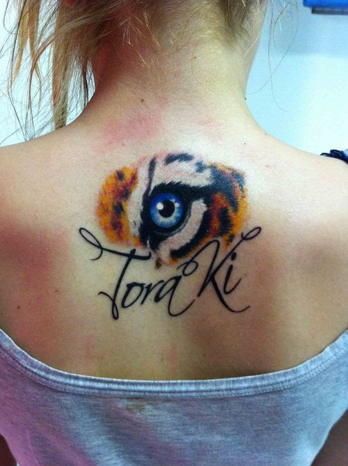 Eye Of The Tiger Tattoos