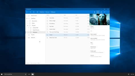 What a Modern Version of Windows 10?s File Explorer Could