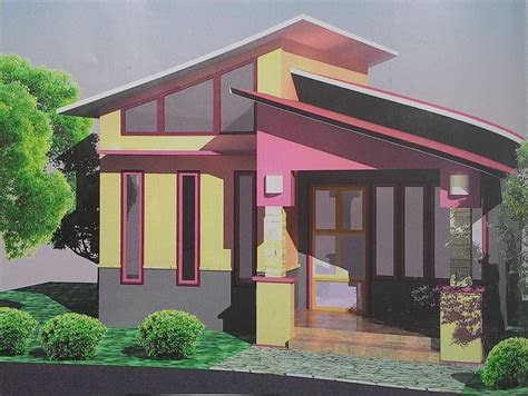 small home design tropical comfortable habitation tiny