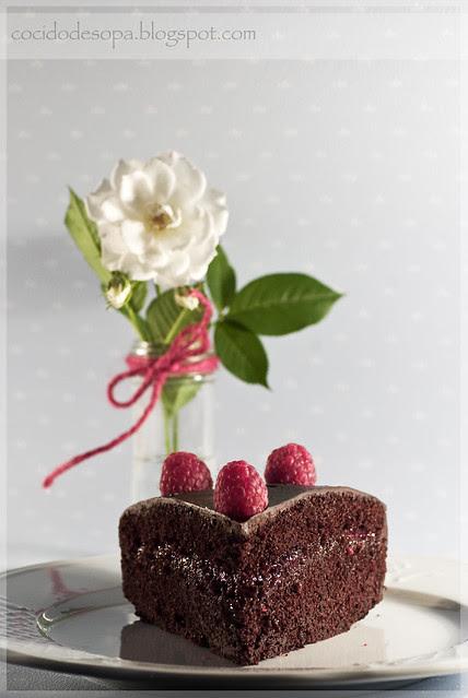 Tarta de chocolate y frambuesa_1