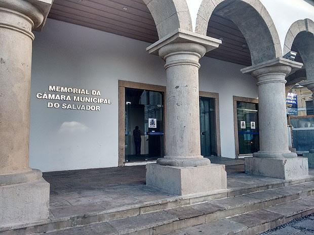 Memorial da Câmara Municipal de Salvador (Foto: Alan Tiago Alves/G1)