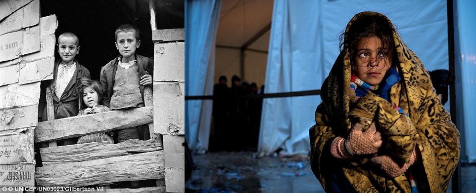Hình ảnh Xót xa chùm ảnh 7 thập kỷ chiến tranh tàn phá cuộc sống trẻ em số 3
