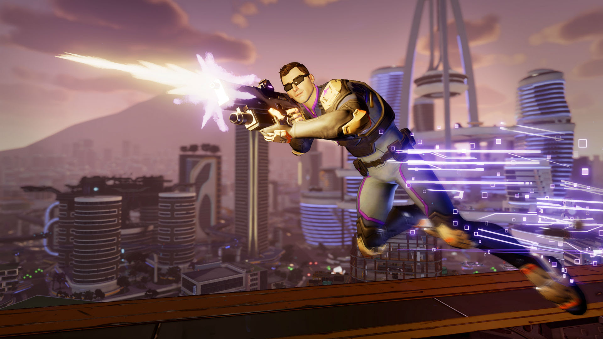 Agents of Mayhem feels like a boiled down Saints Row screenshot