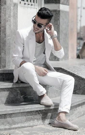 40 all white outfits for men  cool clean stylish looks