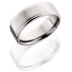 cobalt chrome mm flat top mens wedding band mullen jewelers