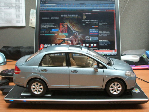 My TIIDA Model Car