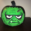 Frankenstein Pumpkin Painting