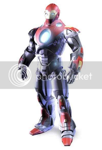 Homem de Ferro - As armaduras