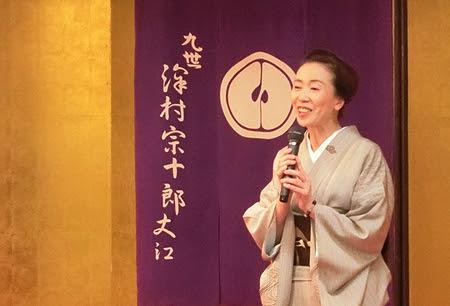 松菱 着物逸品会,島田史子先生 歌舞伎トークショー,歌舞伎 着物展示