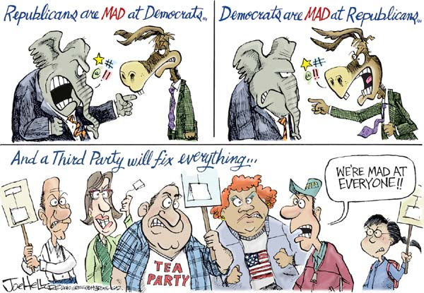 Cartoon by Joe Heller