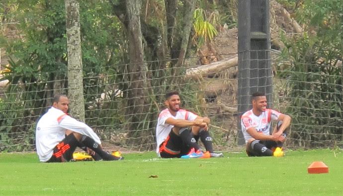 Treino Flamengo (Foto: Thales Soares)