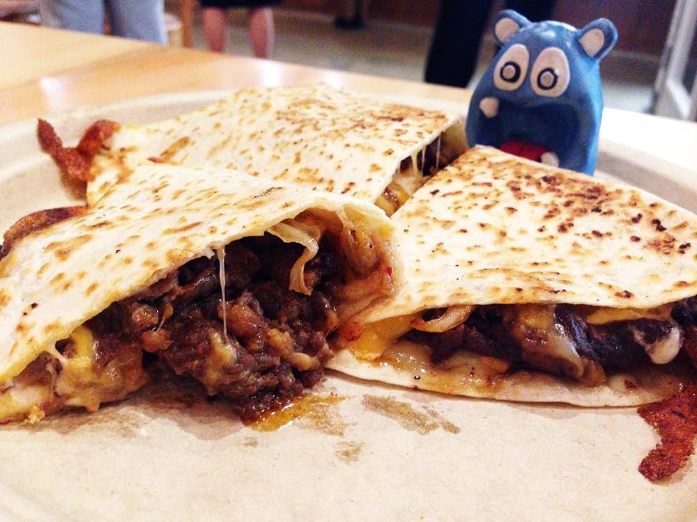 Bulgogi Kimchi Quesadilla @ G Street Food in McPerson ...