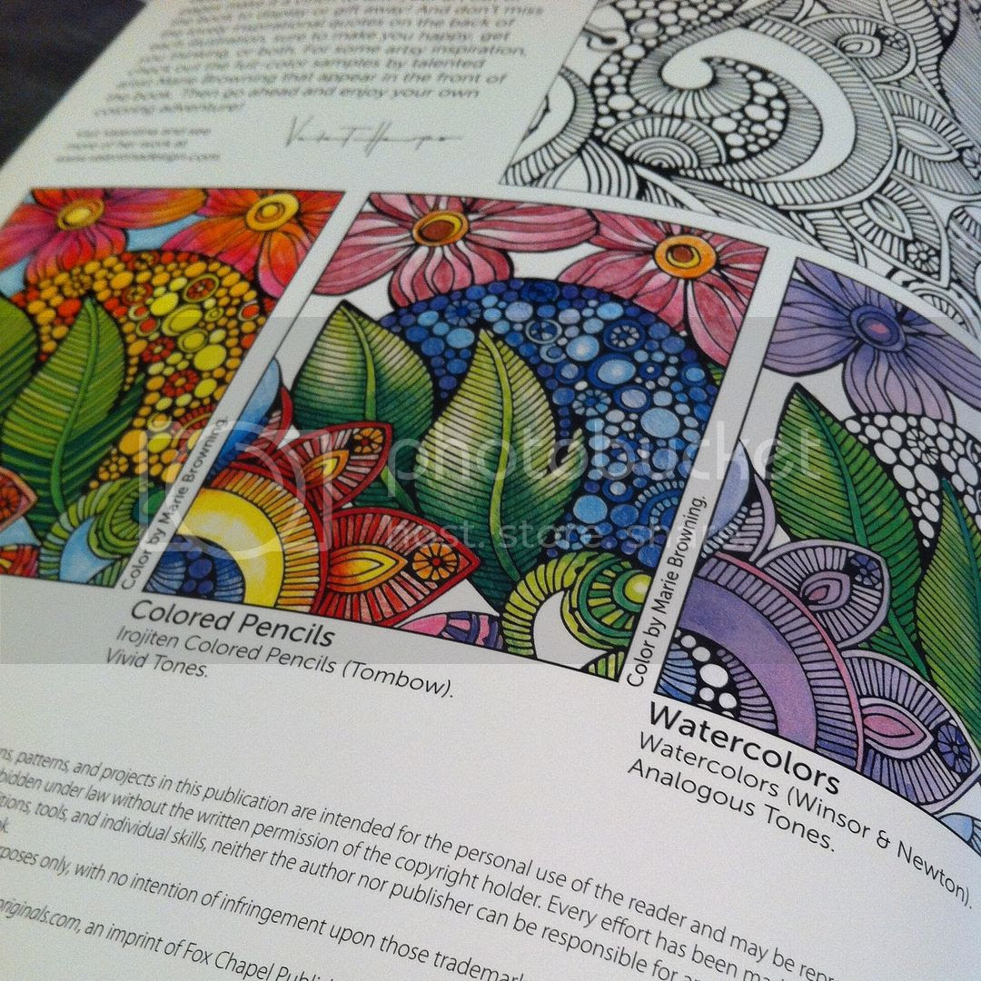 Creative Colouring Inspirations - which media?
