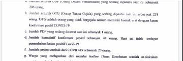 Press Release COVID-19 Tarakan 27 Mei 2020
