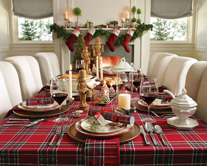 Tartan plaid for Christmas!