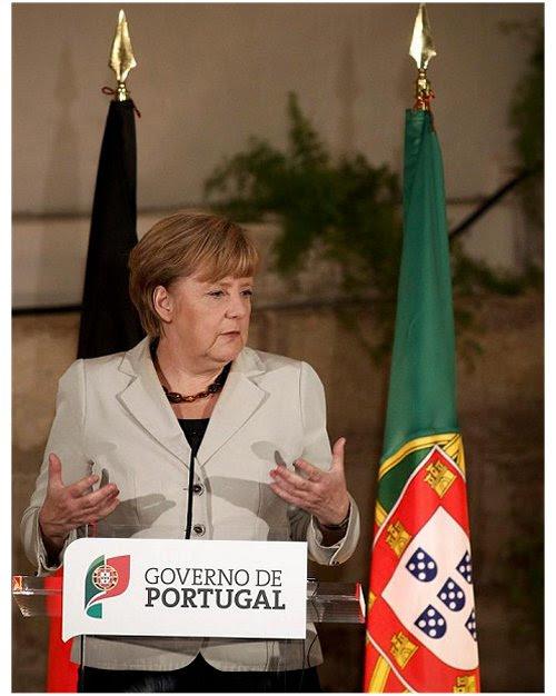 Merkel - Governo Português